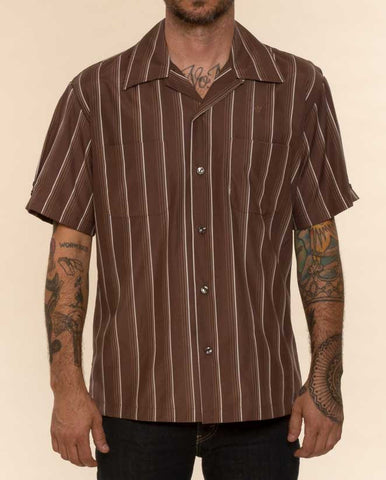 Mr. California - Men's Short Sleeve Shirt - The Long Beach - Front View