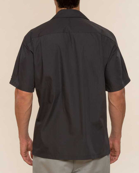 Mr. California - Short Sleeve Button-Up Shirt -The Coronado - Back View
