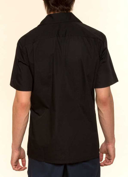 Mr. California - Men's Short Sleeve Button-up Shirt - The San Bernardino - Back View