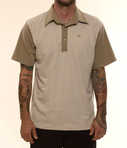 Mr. California - Short Sleeve Knit Shirt -The Burbank - Front View