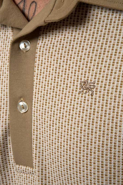 Mr. California - Short Sleeve Knit Shirt -The Burbank - Embroidery Detail