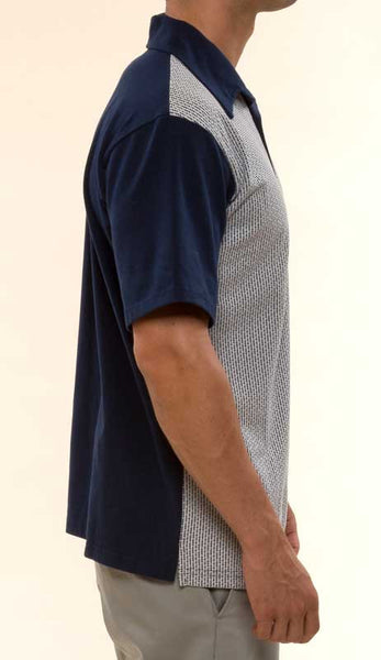 Mr. California - Short Sleeve Knit Shirt -The Burbank - Right Side View