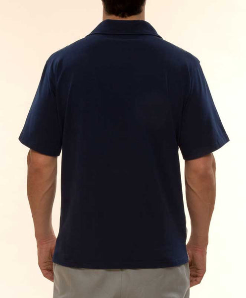 Mr. California - Short Sleeve Knit Shirt -The Burbank - Back View