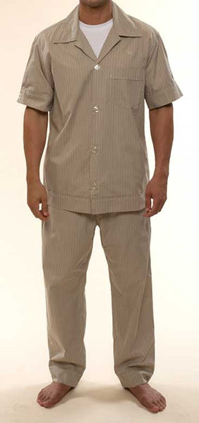 Mr. California - Men's Pajamas - The La Quinta - Front View