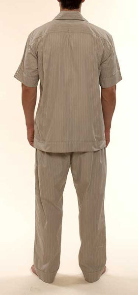 Mr. California - Men's Pajamas - The La Quinta - Back View