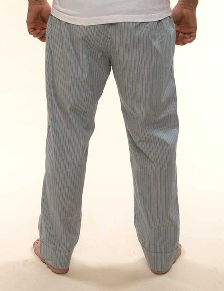 Mr. California - Men's Pajamas - The La Jolla - Pajama Bottom Detail - Back View