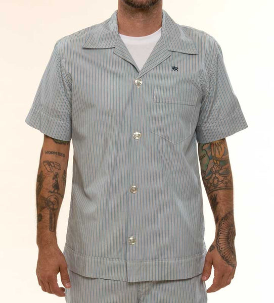 Mr. California - Men's Pajamas - The La Jolla - Pajama Top Detail