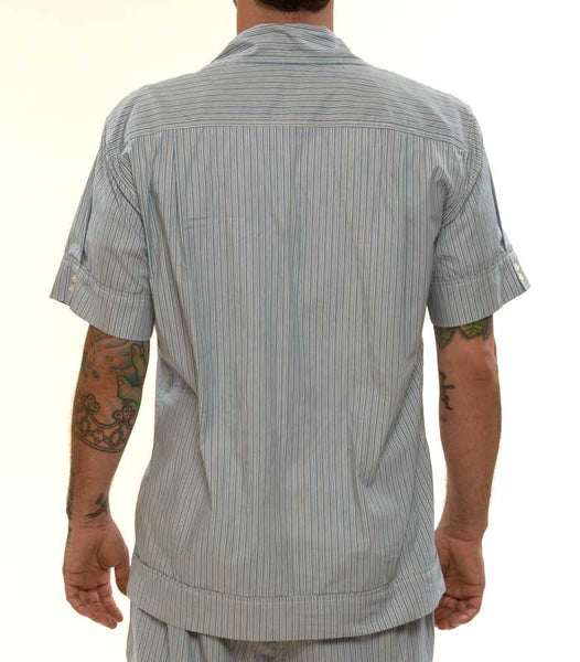 Mr. California - Men's Pajamas - The La Jolla - Pajama Top Detail - Back View