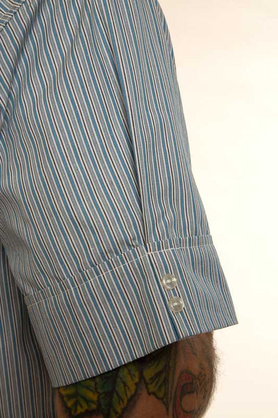 Mr. California - Men's Pajamas - The La Jolla - Pajama Top Button Detail