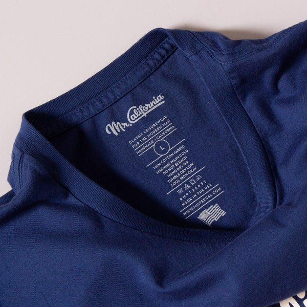 The Los Angeles of Anaheim Logo Tee - Neck Label Detail