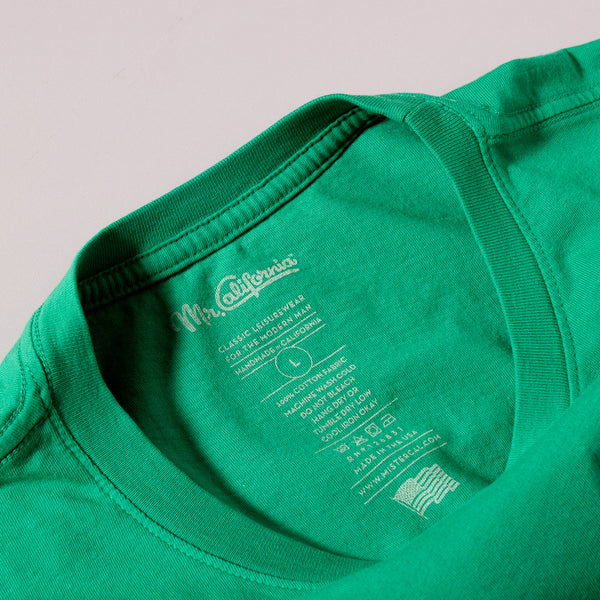 The Oakland Logo Tee - Neck Label