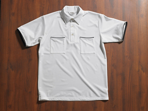 Mr. California - Men's Short Sleeve Coolmax Knit Shirt - The Rancho Mirage - Front View