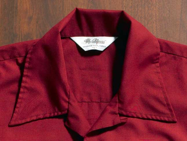 Mr. California - Men's Long Sleeve Shirt - The Nevada City - Collar Detail