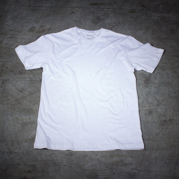 Mr. California Undershirt in Martini White - Front View