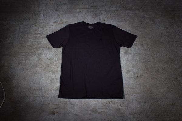 Mr. California Undershirt in Black Out - Front View