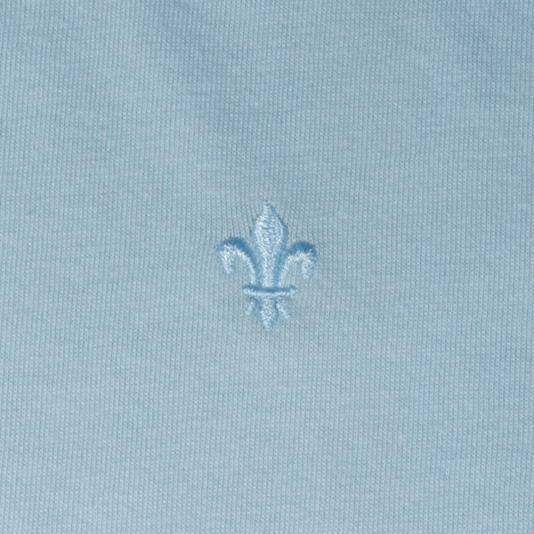 Mr. California Undershirt in Blue Ray - Embroidery Detail