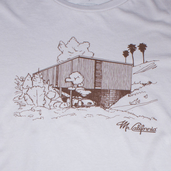 Homer Delawie Boxcar House T-shirt - Close Up