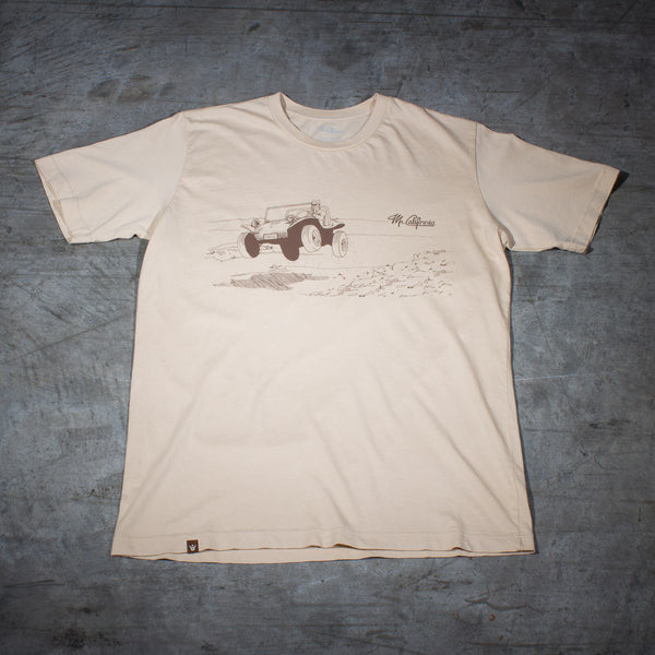 Manx Dune Buggy T-shirt - Front View