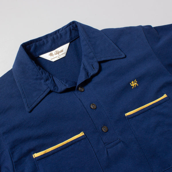 The Pismo Beach in Navy and Gold