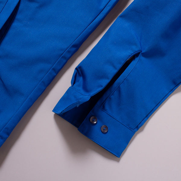 The Laguna Jacket in Canary Blue - Sleeve's Cuff Detail