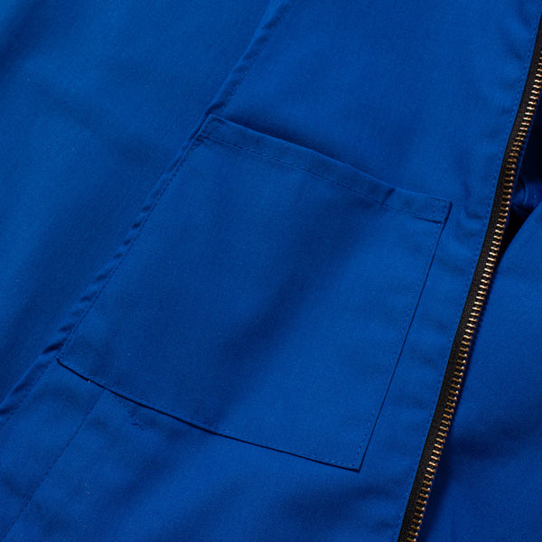 The Laguna Jacket in Canary Blue - Pocket Detail