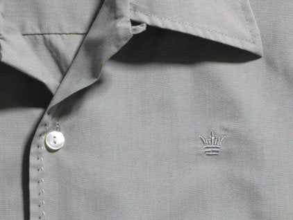 Mr. California - Men's Long Sleeve Shirt - The Nevada City - Front Detail
