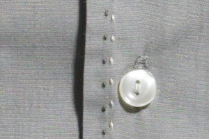 Mr. California - Men's Long Sleeve Shirt - The Nevada City - Button and Stitch Detail