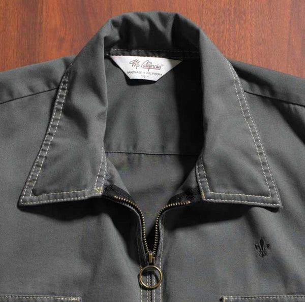 Mr. California - Men's Jacket - The South Lake - Collar Detail