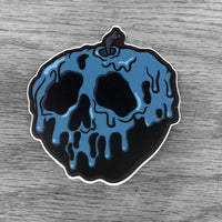 Poison Apple Sticker - Blue