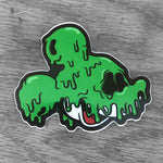 Poison Mouse Sticker - Green