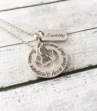 Remembering Your Pet Lovingly - Hand stamped necklace - Pet memorial