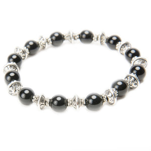 Lana Gemstone and Tibetan Silver Stacking Bracelets