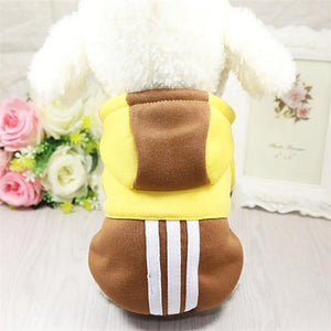 Mix Color Pet Fall-Winter Hoodie