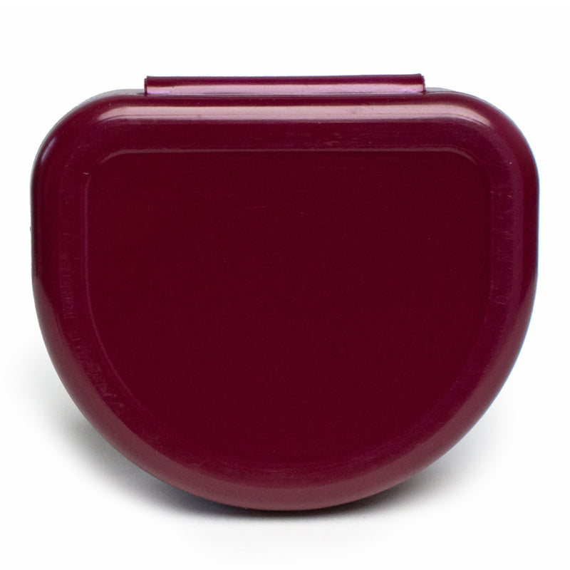 Solid Color Retainer Cases 25/pk (BURGUNDY)