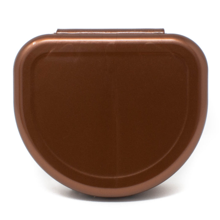 Solid Color Retainer Cases 25/pk (COPPER)