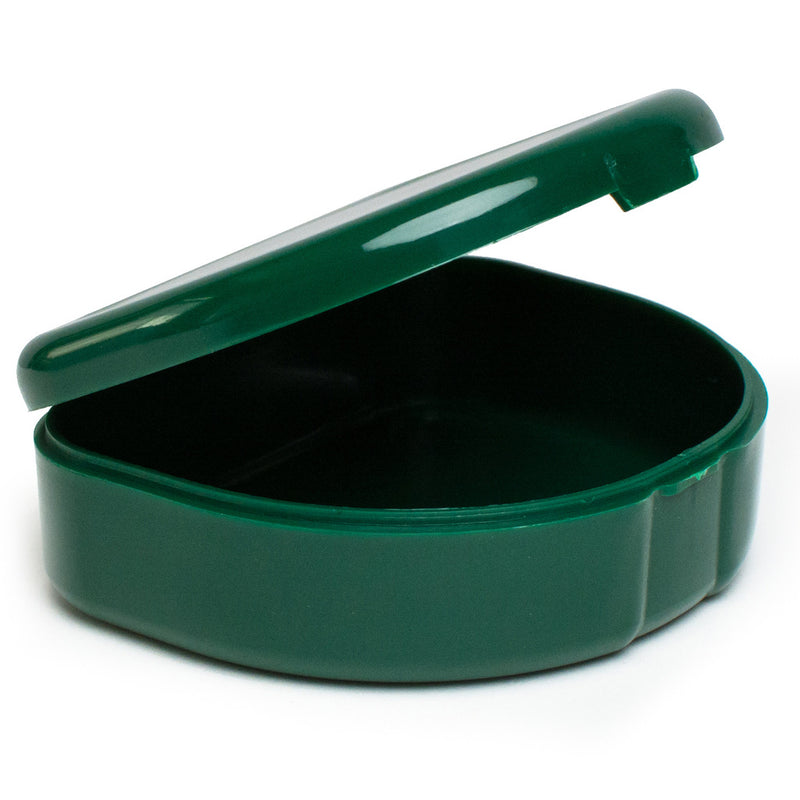 Solid Color Retainer Cases 25/pk (GREEN)