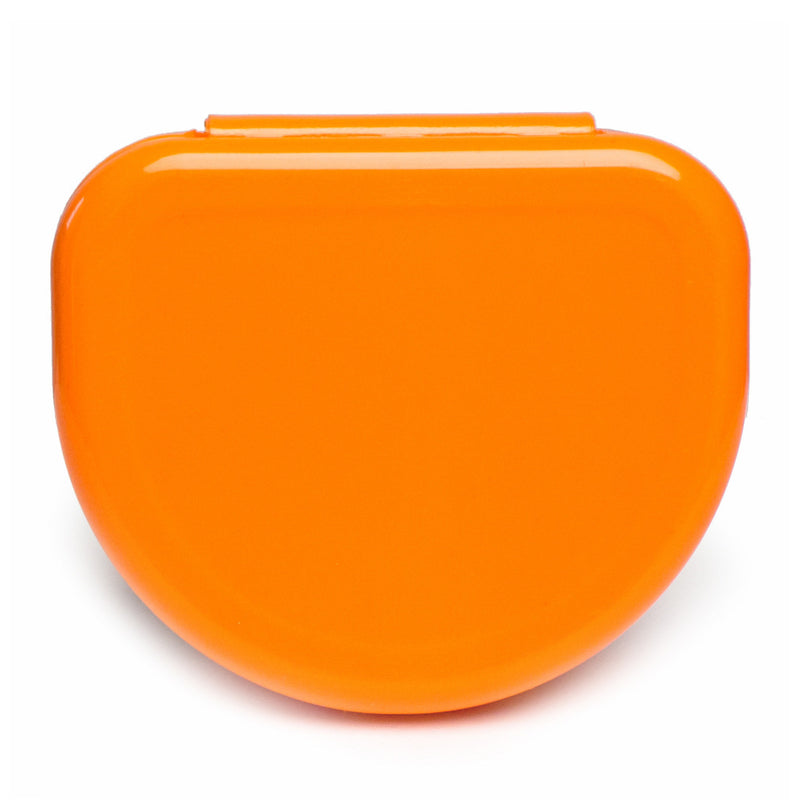 Solid Color Retainer Cases 25/pk (ORANGE)