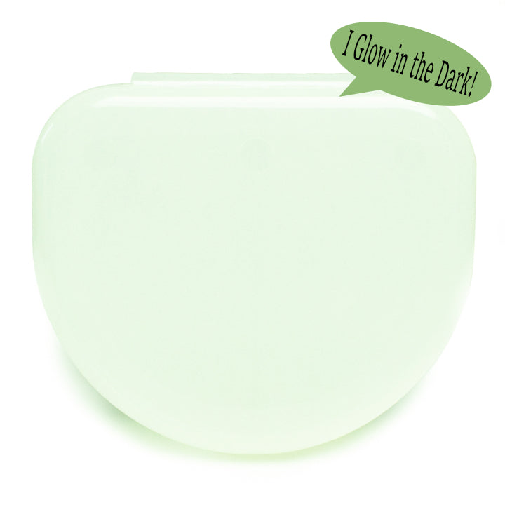Solid Color Retainer Cases 25/pk (PHANTOM, GLOW IN THE DARK)