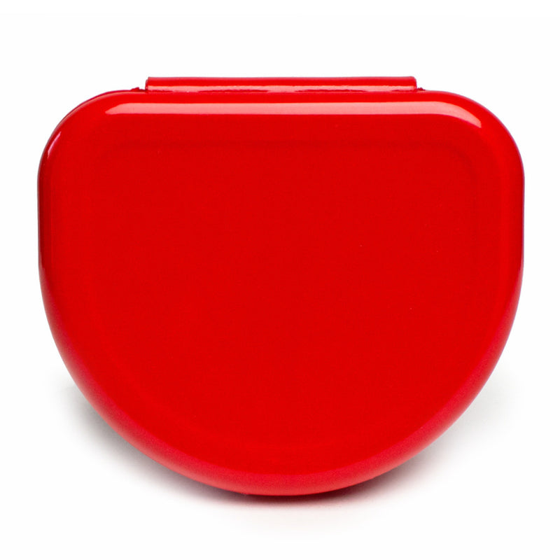 Solid Color Retainer Cases 25/pk (RED)