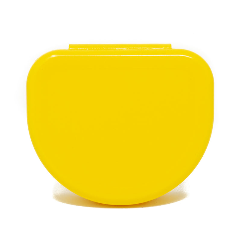 Solid Color Retainer Cases 25/pk (YELLOW)