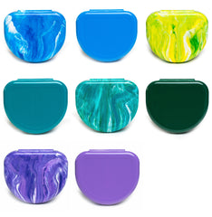 Retainer Case Assortment (HUES OF BLUES) 25/pk