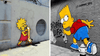 Awesome Simpsons Street Art From All Over The World