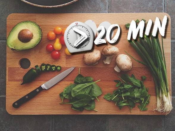 Top 5 Tips To Cook Great Meals In Under 20 Minutes