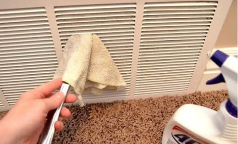 15 Genius Cleaning Hacks That Will Save You Time and Money clean air vents