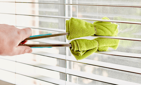 15 Genius Cleaning Hacks That Will Save You Time and Money clean door blinds
