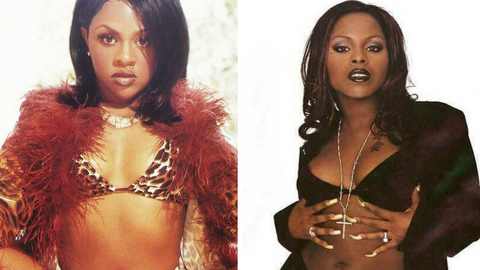 5 of the biggest hip hop feuds of all time Lil Kim vs Foxy Brown