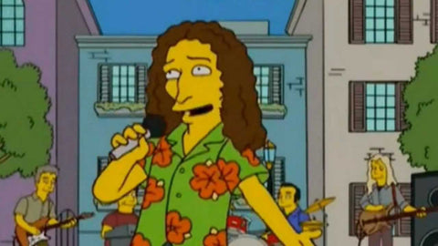9 Totally Accurate Simpsonized Celebrities Weird Al