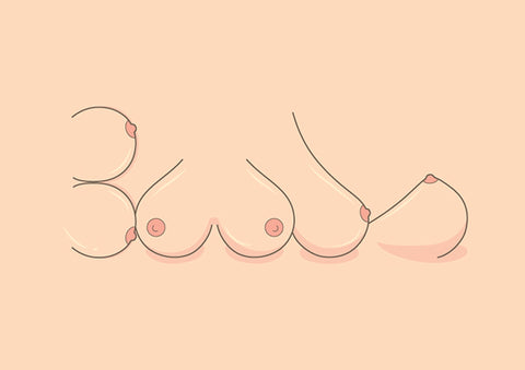 Photo Credit: behance.net breast graphic