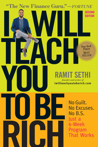 """I Will Teach You To Be Rich"" by Ramit Sethi books that will get you rich"