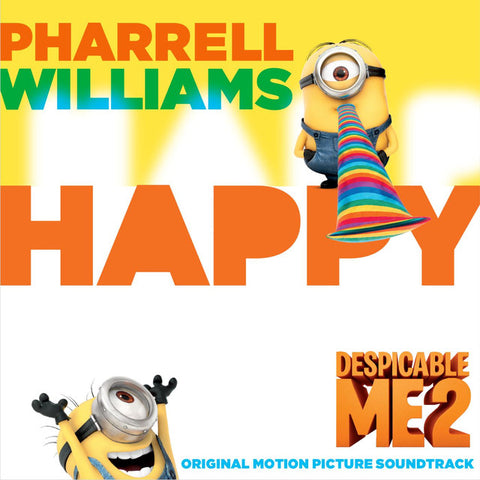 Happy by Pharrell Williams Despicable Me 2
